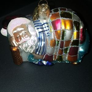 "Radko Christmas Ornament ""A Short Winters Nap"""